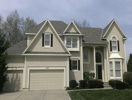 exterior house painter in olathe ks painting a house exterior