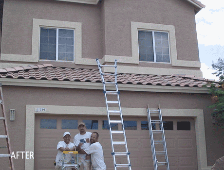 exterior painting company in overland park ks painting a house exterior