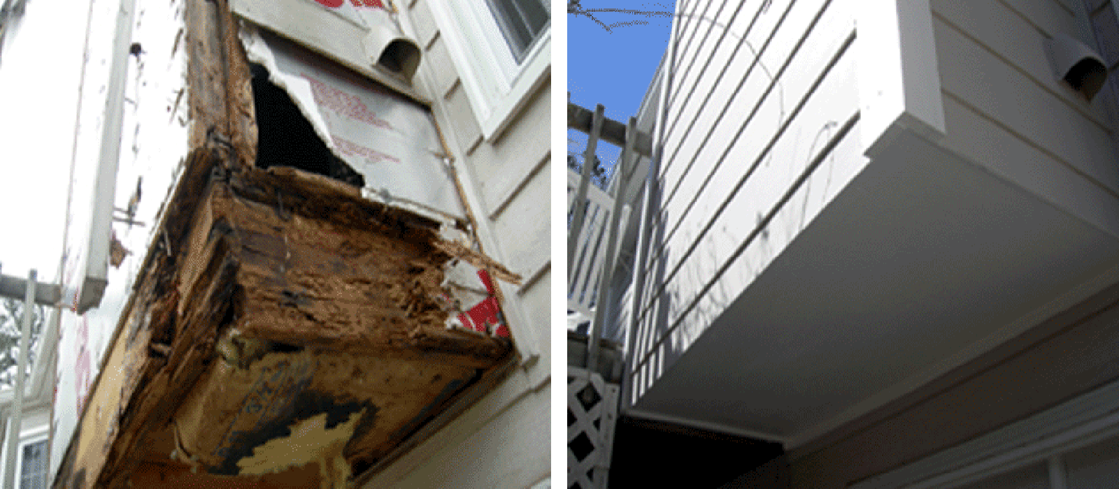 wood rot repair lenexa ks